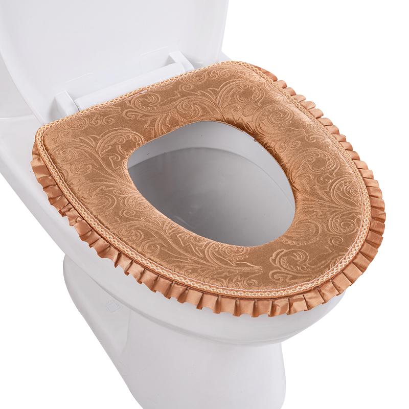 马桶垫坐垫家用四季粘贴式马桶套马桶圈坐便垫坐便套通用防水