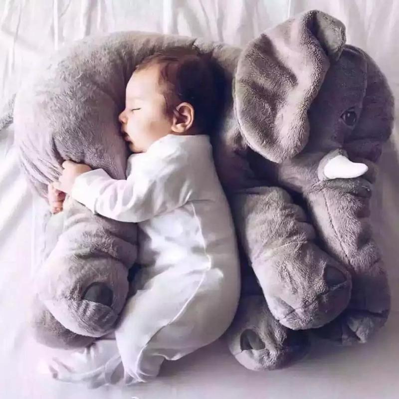 安抚大象毛绒玩具公仔婴儿抱枕头玩偶睡觉布娃娃宝宝陪睡生日礼物