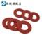 红钢纸 绝缘垫圈 Φ2-Φ8 平垫快巴红介子红垫圈介子垫片绝缘垫片