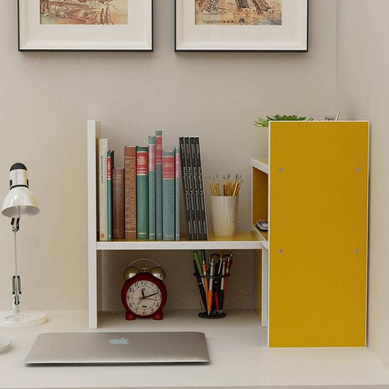 书桌上学生书架简易用办公室桌面置物架儿童多层收纳宿舍小型书柜