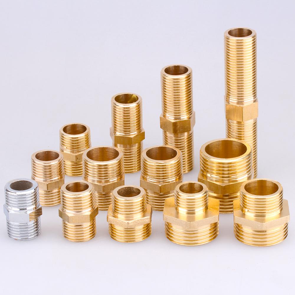 寸进水管接头配件管件 1 分 6 分 4 全铜外丝直接对丝短丝对接加长丝牙