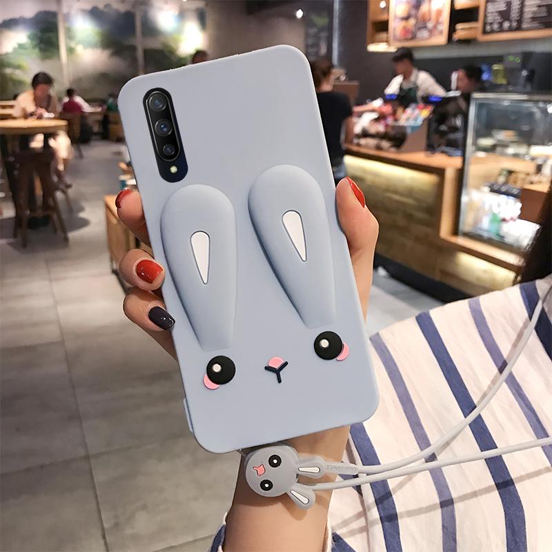 网红兔子iqooneo3手机壳iqoo pro液态vivoiqoo3硅胶保护套薄新款iq00软壳潮牌iqooneo女款卡通全包viv0手机套