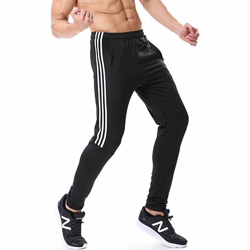 衣图纳运动裤男长裤夏季夜跑高弹力健身裤薄款速干跑步足球训练裤
