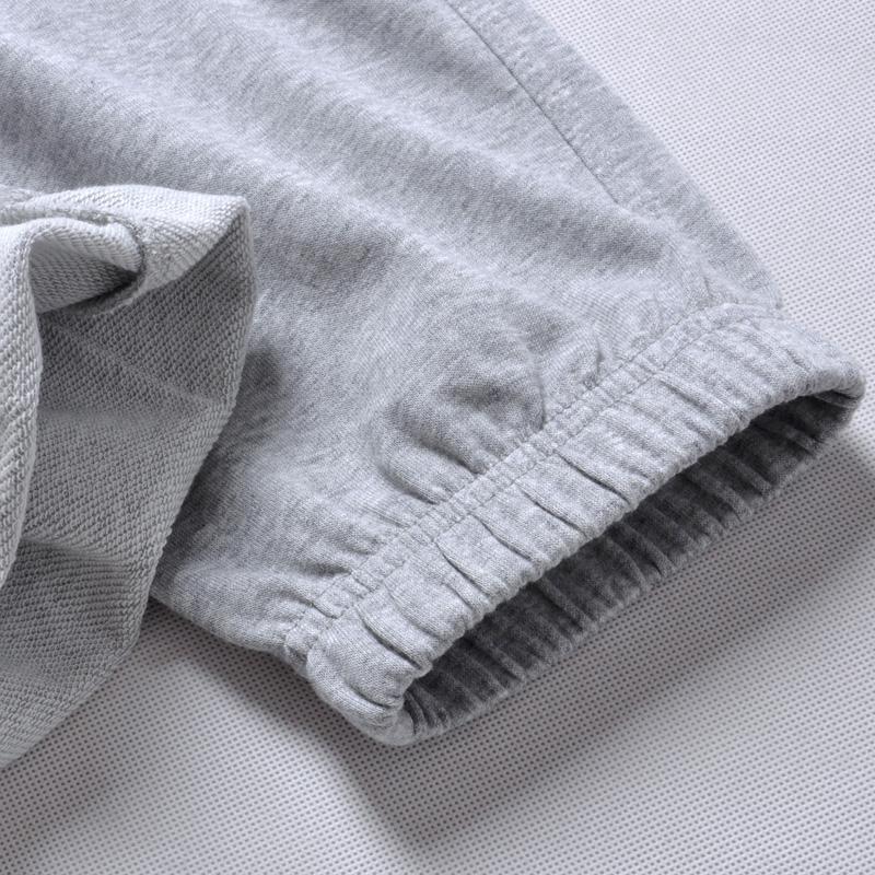 秋季运动裤男长裤薄款透气收口跑步训练裤子宽松大码加绒休闲卫裤