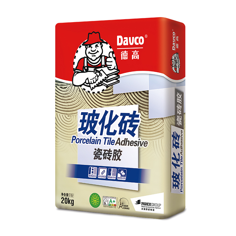 德高瓷砖胶瓷砖粘合剂 玻化砖粘结剂粘合剂 瓷砖胶粘合剂 强力型