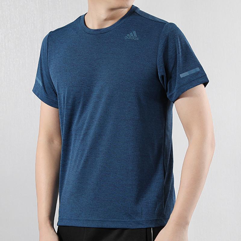 阿迪达斯短袖男2019秋季新款运动服休闲冰风体恤半袖健身T恤