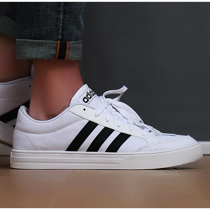 Adidas阿迪达斯男鞋板鞋2019秋冬季新款小白鞋子运动鞋透气休闲鞋