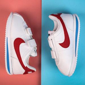 Nike耐克儿童鞋婴童鞋魔术贴小孩大童鞋运动阿甘鞋幼童板鞋亲子鞋