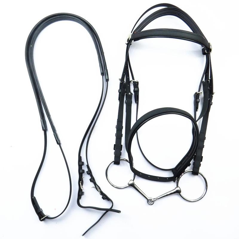 水勒缰绳PVC皮马嚼子全套马具大小矮马笼头 买10送1 亏本特价