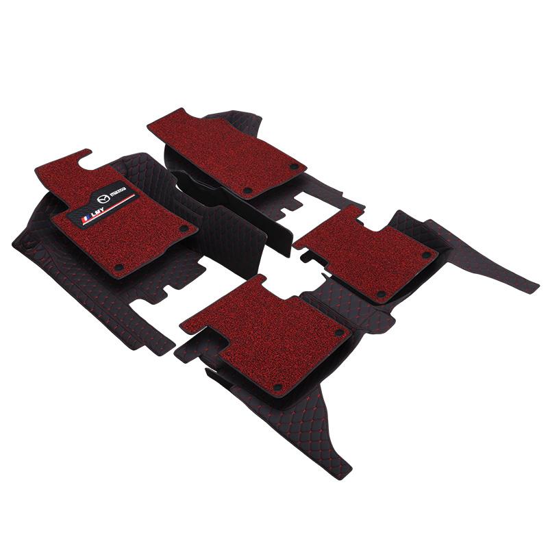 专用于马自达6脚垫全包围老款马六6睿翼汽车轿跑新2017款阿特兹