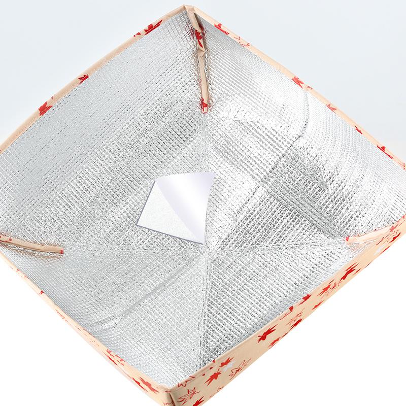日本保温菜罩 家用饭菜罩可折叠餐桌罩冬季饭菜保温罩盖菜罩饭罩