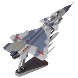 One seventy-two F-10 fighter aircraft model alloy Jian Shi J10 military parade simulation model air show souvenirs