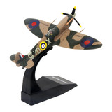 Telbo 1:72 Spitfire fighter model World War II alloy aircraft model simulation military ornaments finished product collection