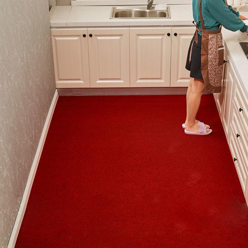 厨房地垫耐脏防油地毯家用进门口门垫防滑垫子卫生间浴室吸水脚垫