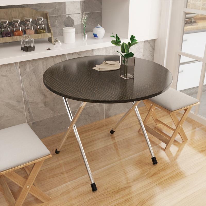 小户型折叠桌子简约吃饭桌家用桌简易户外便携式摆摊桌可折叠餐桌