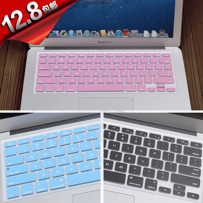 2018MacBook Pro13键盘保护贴膜Mac笔记本12苹果MacBook Air电脑超薄13.3英寸11全覆盖防尘罩快捷键11.6配件