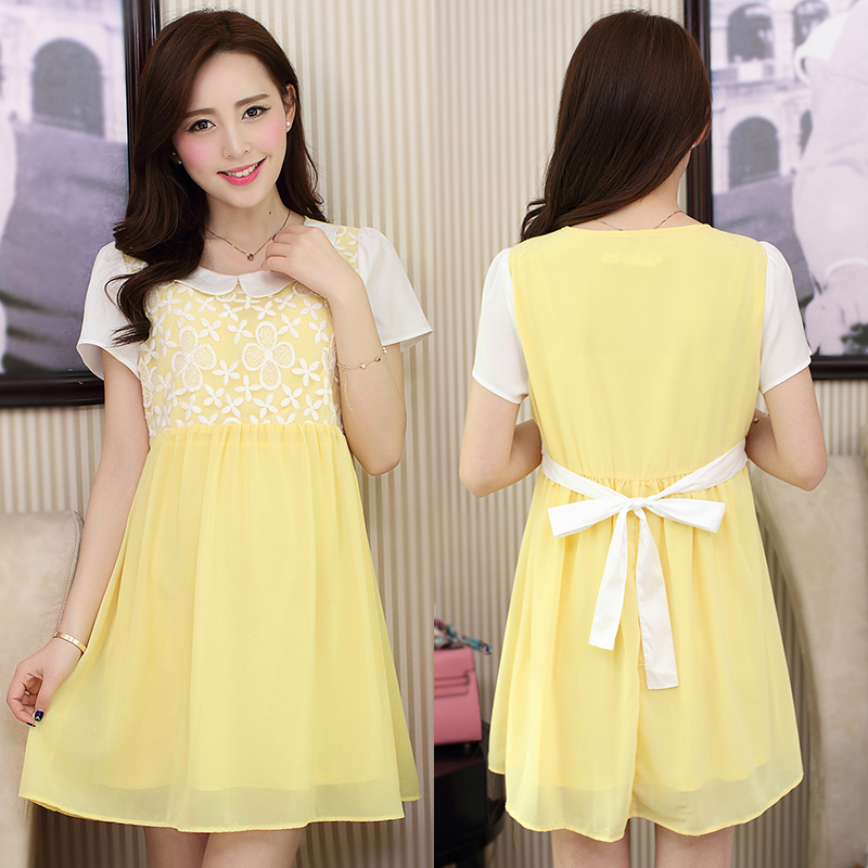 cb3da187c68 Buy Women wear dresses summer short sleeve ol slim piece ms. positive dress  overalls interview tooling white shirt in Cheap Price on m.alibaba.com