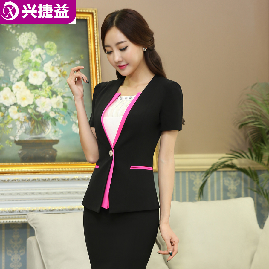 2fc6614cf234 2016 new women s fashion career suits summer wear women s skirt suits  overalls female summer