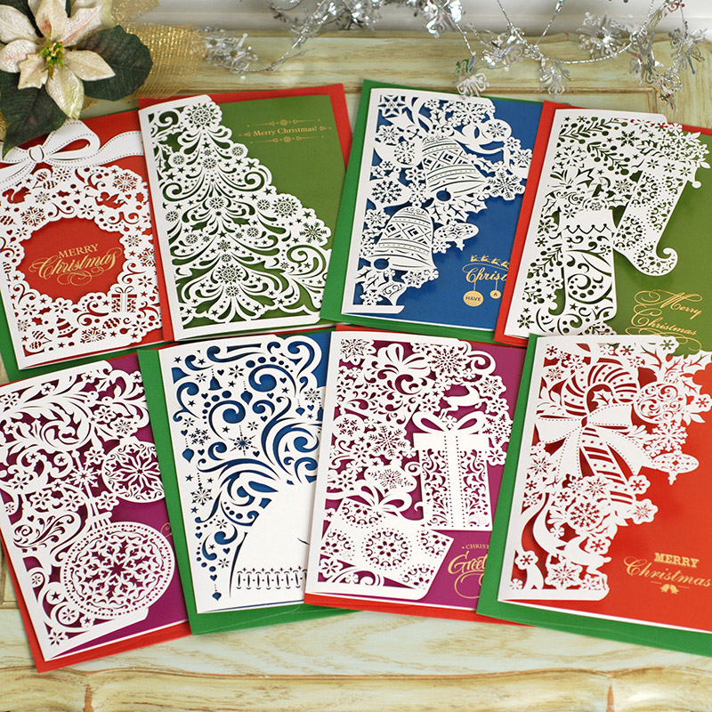 Buy 2017 european and american custom folding christmas greeting buy 2017 european and american custom folding christmas greeting cards handmade cozy thanksgivings three folding scissors paper business gift cards in cheap m4hsunfo