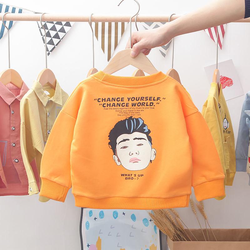 童上衣男孩小孩男童春秋款儿童卫衣棉2020新款宝宝打底衫韩版洋气