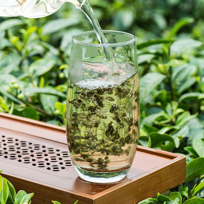 周顺来2019新茶上市茉莉雪螺250g罐装浓香特级茉莉花茶茶叶