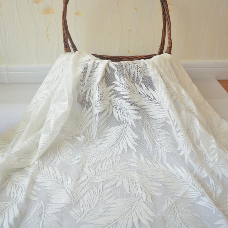 清仓白色蕾丝布料舞台婚礼纱幔台窗帘甜品台桌布网纱婚庆道具包邮