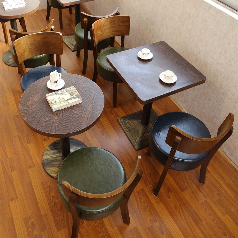 餐店餐座椅奶茶店桌椅