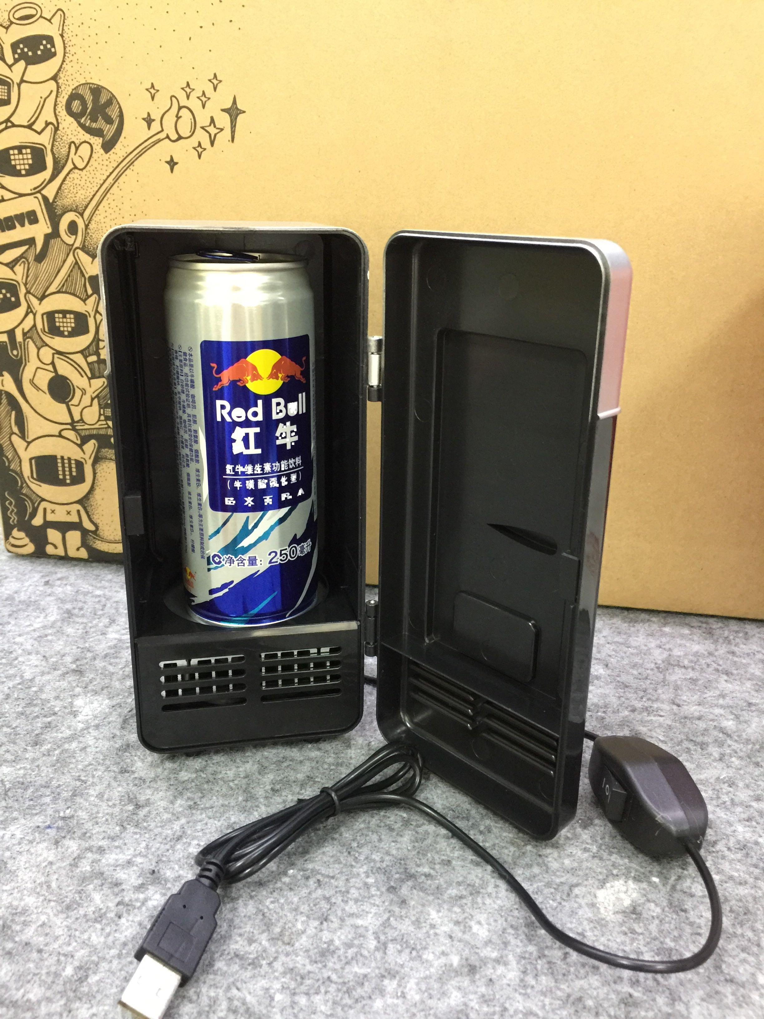 USB快速制冷冰箱/冷暖两用迷你冰箱/微型小型冰箱/小家电 厂家