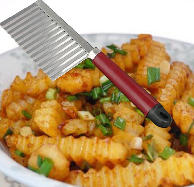 天天特价多功能切菜器厨房家用不锈钢创意波浪形狼牙土豆薯条切刀