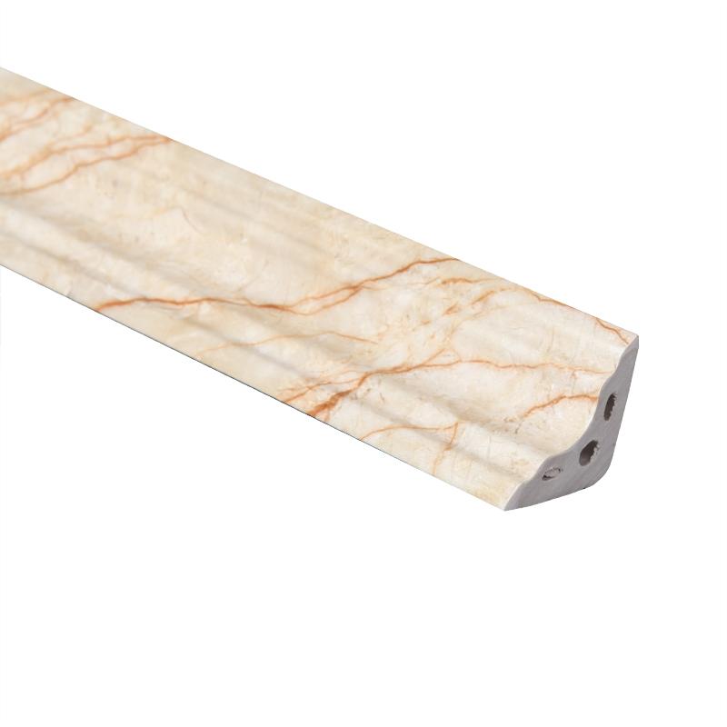 欧式PVC装饰阴角线顶角线天花角线墙角线线条地脚线三角形90度