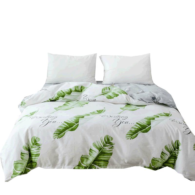 纯棉被套单件夏季100%全棉1.5米200x230双人宿舍被罩单人1.8x2.0