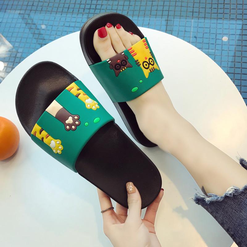 拖鞋男女夏季室内情侣男士家居家用洗澡防滑浴室外可爱卡通凉拖鞋