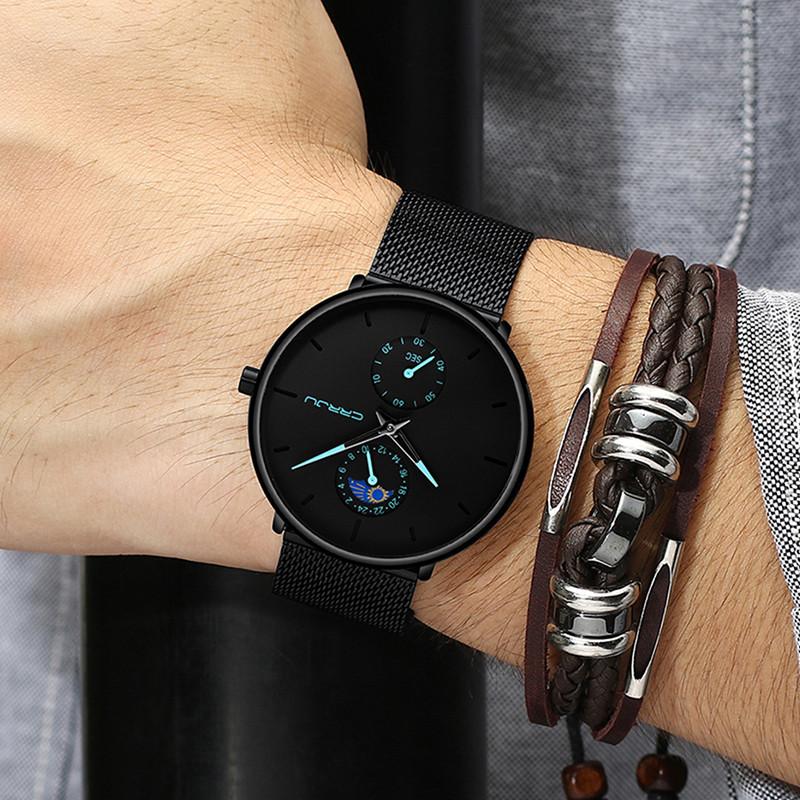 2019 新款虫洞概念网红高中生手表男学生潮流防水 超薄瑞士男士手表