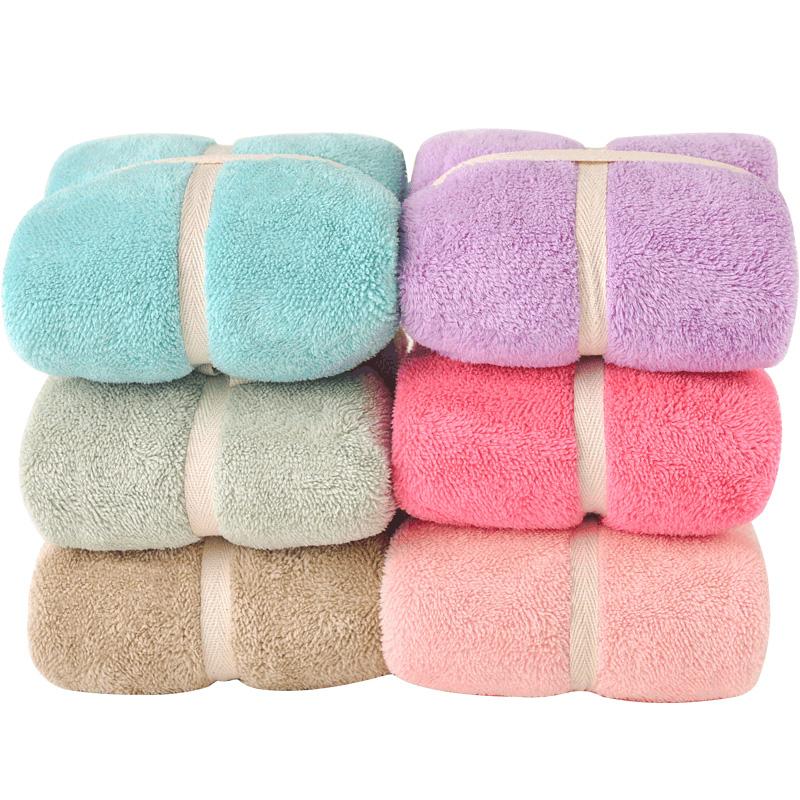 毛毛雨毛巾吸水不掉毛洗头大洗脸帕家用比纯棉擦头发洗澡速干发女