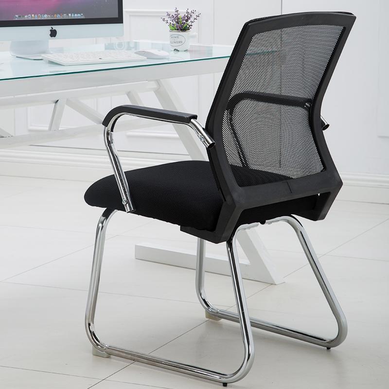 电脑椅家用办公椅弓形椅子会议椅麻将椅职员椅学生椅棋牌室椅子
