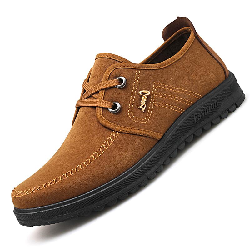 老北京布鞋男爸爸鞋男士休闲鞋工作鞋子男中老年布鞋男软底男鞋