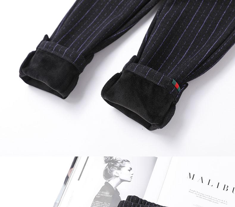 女童裤子2018新款秋冬韩版一体加绒加厚中大童休闲哈伦裤洋气外穿