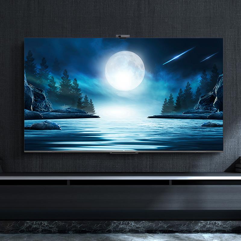 高清超薄全面屏声控网络社交平板液晶电视机 4K 英寸 55 55T88D TCL