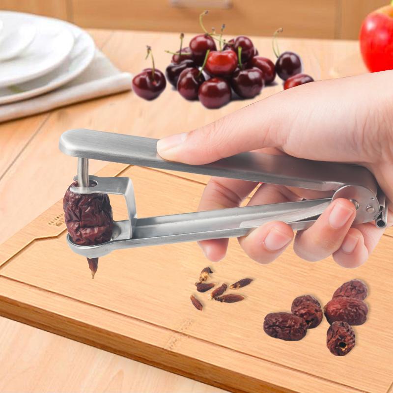 不锈钢红枣去核器樱桃取芯抽芯器车厘子去籽器水果分割器水果工具