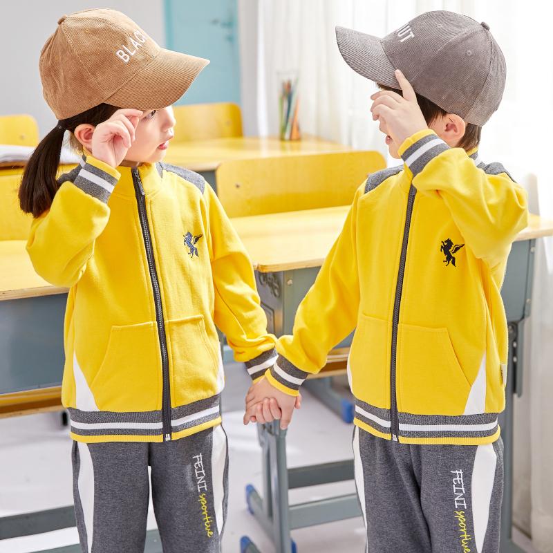 幼儿园园服春秋装英伦风运动会套装男女儿童小学生校服班服三件套
