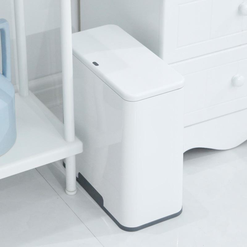 分类垃圾桶家用客厅卧室厨房按压式干湿分离卫生间厕所有带盖纸篓