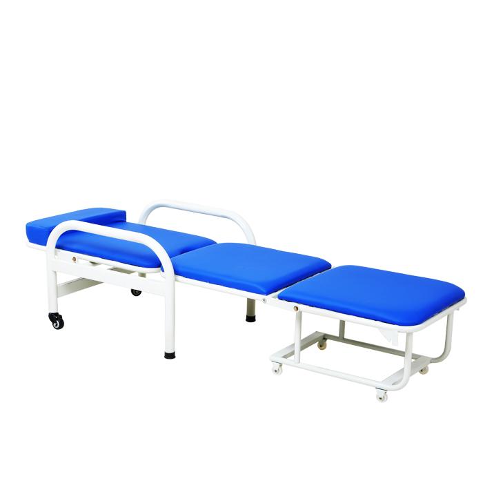 包邮永辉正品医院用陪护椅 护理床陪护床 多功能午休折叠床折叠椅