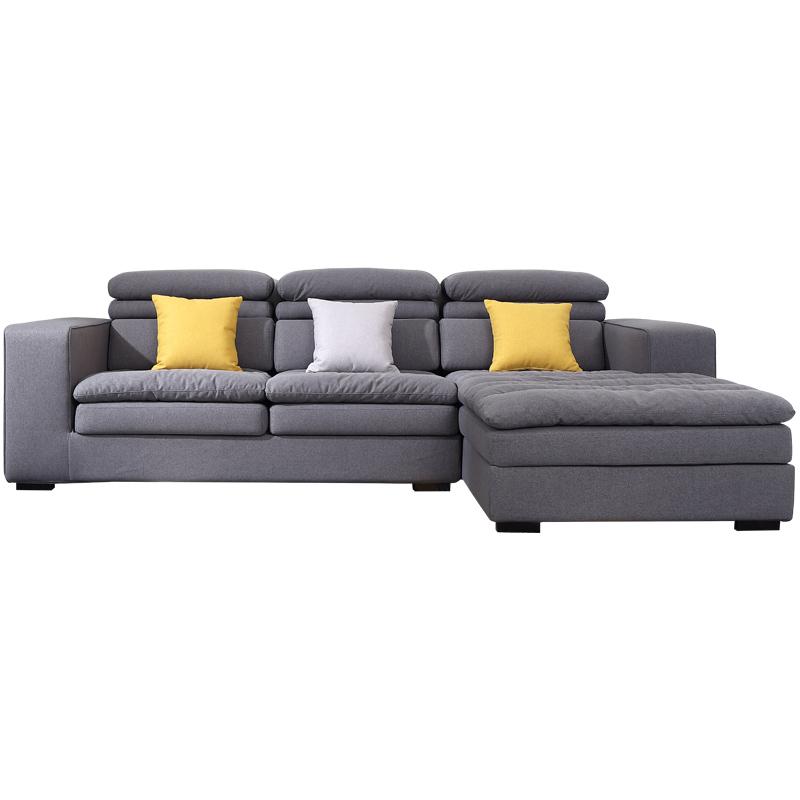 乳胶沙发北欧风格小户型客厅家具整装组合套装 简约现代布艺沙发