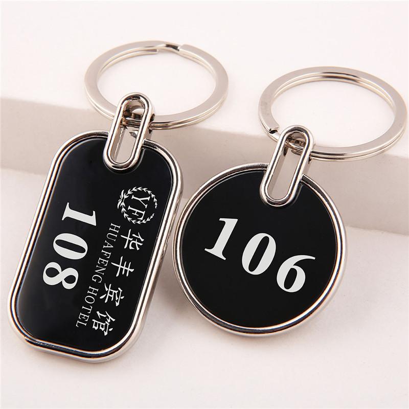桑拿手牌 金属编号数字牌存包寄存牌酒店钥匙扣宾馆钥匙牌号码牌
