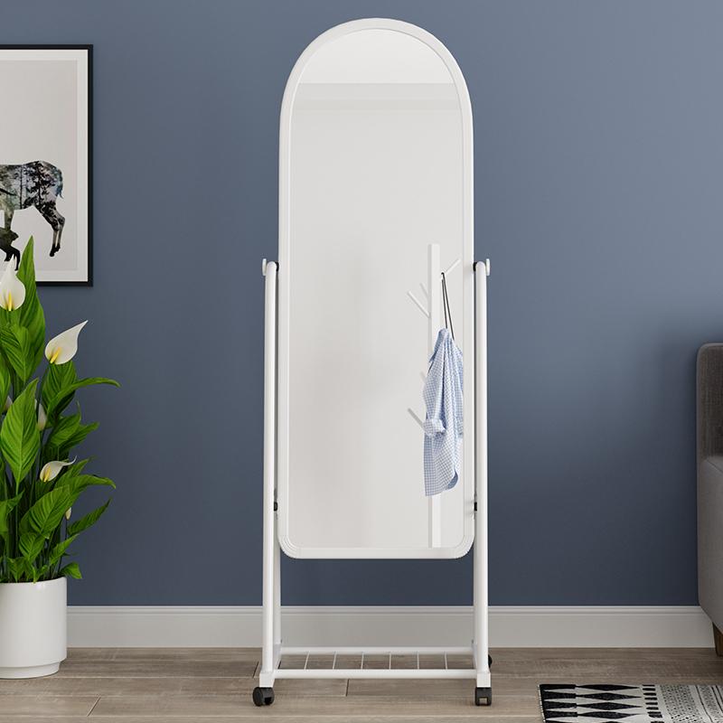 试衣镜移动落地壁挂仪容镜穿衣镜化妆镜浴室支架置地现代全身镜子