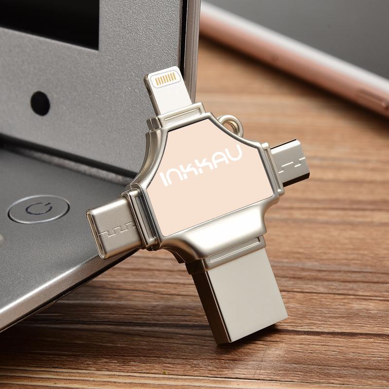 手机u盘16g苹果电脑两用oppo加密vivo安卓type-c接口MAX华为p20多功能iphoneX外接otg优盘8可插ipad小米通用