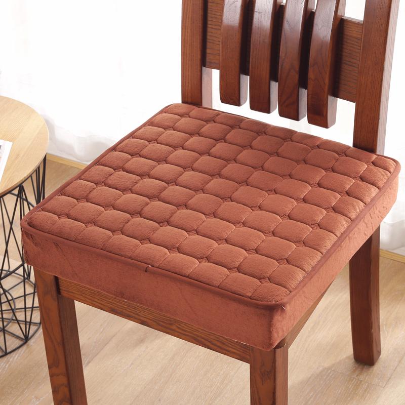 冬季海绵增高凉席椅子垫办公室学生加厚防滑榻榻米坐垫汽车座垫子