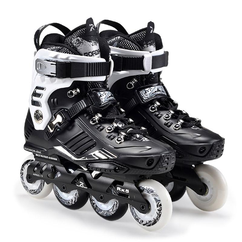 乐秀RX5轮滑鞋成人溜冰鞋成年旱冰鞋男女专业平花鞋直排轮大学生