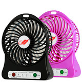 USB fan mini electric fan rechargeable portable student bed dormitory with hand-held fan desktop office hand holding children big wind small household small fan