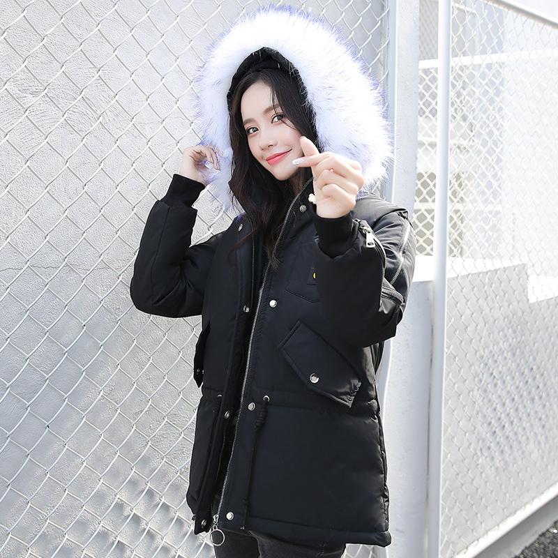 棉衣女短款2020冬季外套新款羽绒棉服女韩版宽松棉袄ins女派克服主图